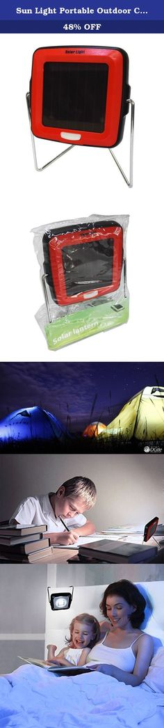 Sun Light Portable Outdoor Chargeable Solar LED Camping Lantern (Red). About Our Product: We're committed to improving the lives of all and providing light wherever you are. Our factory is professional in the amorphous silicon thin film solar modules product development, production and sales. Amorphous silicon cells have been widely concerted in the market, relying on advantage of less material of silicon, making simple & easy to large volume production, better translucent, larger…