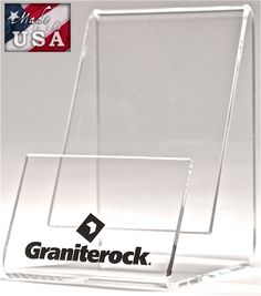 Vertical Clear Acrylic Business Card Holder