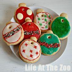 Bauble Cookies! Decorate, Hang, Eat!!