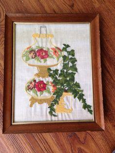 mid century embroidery