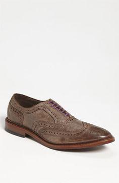 Allen Edmonds Wingtip & 1901 Multicolor Shoelaces | Nordstrom