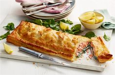 Frank, from our story, cleverly transformed a kitchen mishap into a tasty salmon wellington. Find this recipe & more Food Love Stories at Tesco Real Food.