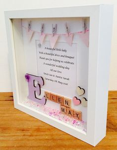 Hey, I found this really awesome Etsy listing at https://www.etsy.com/uk/listing/292952841/flower-girl-frame-personalised-flower