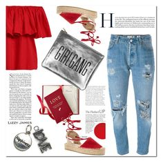 """Lizzy James 7/I"" by nerma10 ❤ liked on Polyvore featuring Levi's, Soludos, Lizzy James and lizzyjames"