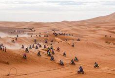 Afriquia Merzouga Rally Con il patrocinio di Sua Maestà il Re del Marocco Mohammed VIL'appuntamento per professionisti e amatori