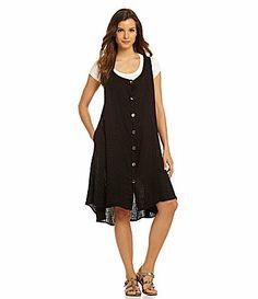 Niche Moonscape Vest Dress #Dillards