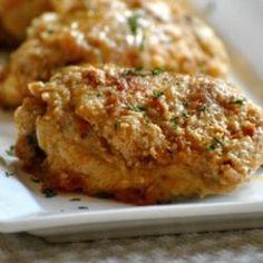 Amish Oven Fried Chicken Oven Fried Chicken, Fried Chicken Recipes, Crusted Chicken, Chicken Meals, Chicken Nachos, Crispy Chicken, Dutch Recipes, Cooking Recipes, Amish Food Recipes