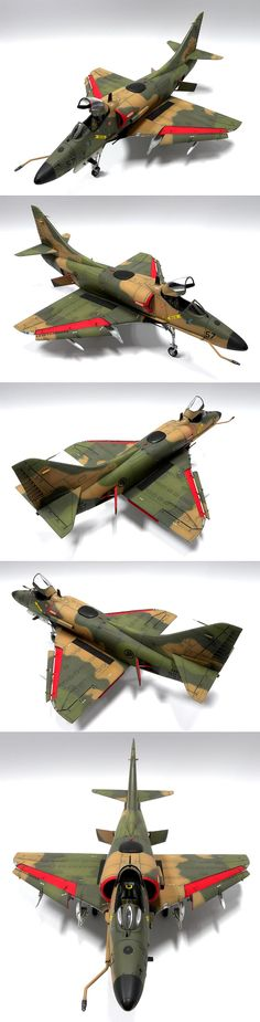 A-4SU Super Skyhawk 1/35 Scale Model