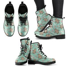 Bohemian Boots, Buy Shoes Online, Samoyed, Doge, Just In Case, Leather Boots, Pu Leather, Vegan Leather, Casual Shoes