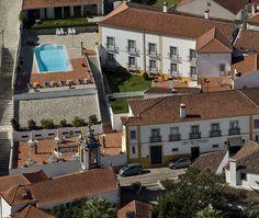 Hotel Real D'Óbidos - Vista aérea | Aerial view www.hotelrealdobidos.com
