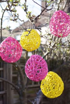 Cheap and amazingly wonderful large baubauls to hang at your wedding venue: via The Curiosity Project: DIY With...