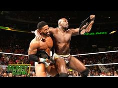 WWE Network: The Prime Time Players celebrate winning the WWE Tag Team Title: Money in the Bank 2015 | jovideo - видео портал