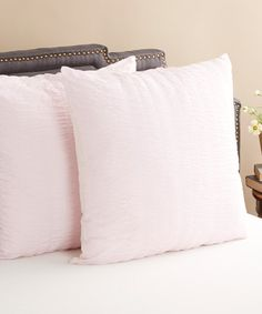 Another Great Find On Zulily Pink Timeless Love Seerer Cotton Euro Sham Set