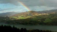 Arcobaleno.. dalle finestre del B&B Borgo Massovrana!!