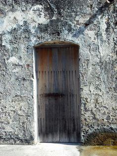 Old wooden #Door, #PuertoRico - A month of....Blog