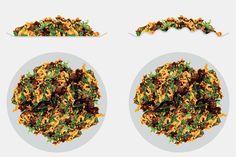 もう食べすぎない! 脳をだまして少量でも満腹感が得られる「3Dプレート」が海外で話題に