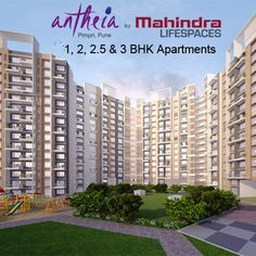 Mahindra Antheia - 1, 2, 2.5 & 3 BHK Flats in Pimpri, PCMC To know more Visit: http://www.puneproperties.com/mahindra-antheia-flats-apartments-pimpri.html #PuneProperties #FlatsinPune #ApartmentsinPune #FlatsinPimpri #ApartmentsinPimpri #MahindraAntheia #PCMC