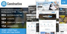Download Free              Constructive-Contractors Multi-Purpose HTML With Page Builder            #               business #company #construction #html builder #industrial #industry #logestics #marketing #multipurpose #one page html #one page html builder #remodeling #renovation #roofers