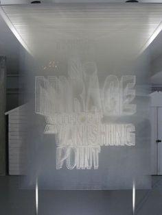 Alida Sayer, A Vanishing Point (2011) #typography #design