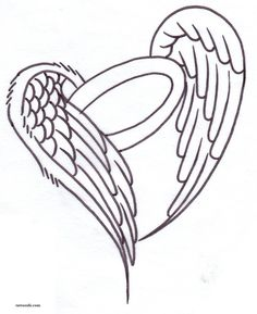 Angel wing tattoo designs are very popular with celebrities. A lot can be done with angel wing tattoo designs, they can be added to another design or just stand on their own. The angel wing tattoo design can symbolize many things for the wearer.