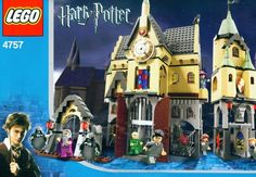 HARRY POTTER LEGO: Harry Potter Hogwarts Castle Lego Set 4757 is definitely one set we would like to own! #harrypotter #lego