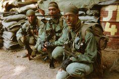 MACV SOG Team prior to insertion ~ Vietnam War