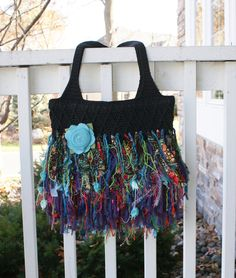 upcycling a purse - love it!