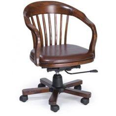 Καρέκλα  γραφείου από δέρμα
