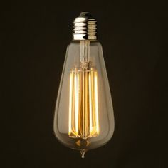 Fantastic LED Edison light that's also dimmable.
