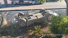 Dodge Viper RT 10 crashed in San Jose CA