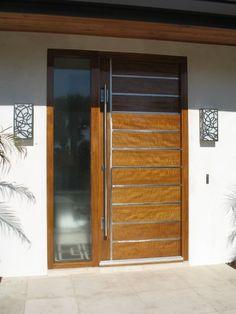 New Modern Glass Entry Doors