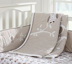 Beautiful Owl Bedding Elephant Nursery Sets