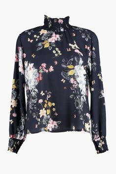 b4504b2f8895 Bluse Juliet Butterfly Navy fra Floyd by Smith