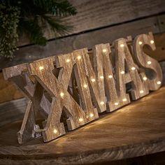 Wilko Christmas Ornament Wooden Xmas Festive Forest