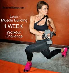 Melissa Bender Fitness: Lean Muscle Building Workout Challenge: 4 Weeks of Workouts. Free.