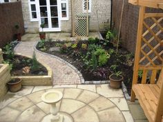 new build garden design Google Search Garden Pinterest
