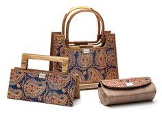 """""""Tokyo,"""" """"Napa"""" and """"5th Avenue Clutch"""" by Stella Page of Stella Page Design. American Made."""