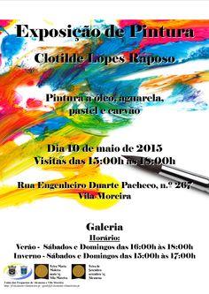 Exposição de Pintura de Clotilde Lopes Raposo