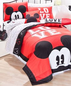 Disney Bedding, Mickey Mouse Quilt Sets   Bed In A Bag   Bed U0026 Bath