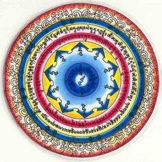 Vajrakilaya protective mandala . Tibetan Mandala, Tibetan Art, Tibetan Buddhism, Buddhist Art, Tibetan Symbols, Vajrayana Buddhism, Thangka Painting, Gautama Buddha, Fractal Art