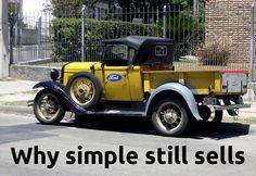 Why simple still sells | LinkedIn 08/08/14