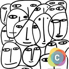 Ilustraciones de Milo Lockett para el Cuarto Congreso Argentino de Cultura (8426784039) - Puebla Pictures.com Doodle Paint, Painting Inspiration, Illustrators, Art For Kids, Pop Art, Abstract Art, Illustration Art, Doodles, Symbols