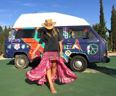 Falda hippie Free Love Ibiza