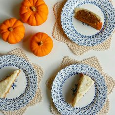 Lucy's delicious homemade honey roast pumpkin spice cake recipe plus others are over on our blog!