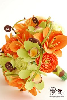 Nice summer color for wedding Bouquet