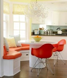 nice kitchen concept. Just do not care for the colors.