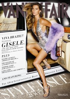 Top 15: The covers of the most striking magazine Gisele Bundchen | Mundo.Brasil