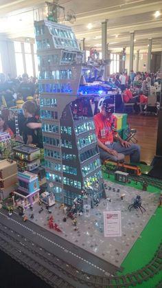 #Brickvention #Lego #Marvel #Avengers #Tower