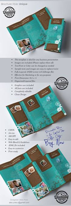 Brochure Trifold, File Organization, Business Presentation, Purpose, Templates, Facebook, Stencils, Vorlage, Models