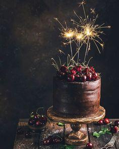 Nutella Stuffed Chocolate Hazelnut Dream Cake - The Kitchen McCabe Nutella Birthday Cake, 25th Birthday Cakes, Chocolate Hazelnut, Love Chocolate, Chocolate Cake, Happy Birthday Wishes Images, Happy Birthday Flower, Gorgeous Cakes, Amazing Cakes